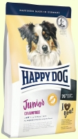 Беззерновой корм для молодых собак Happy Dog Junior Grainfree - птица и ягнёнок