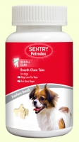 Sentry Petrodex Breath Chew Tabs Лакомство для освежения дыхания собак