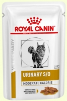 Royal Canin Urinary S/O Moderate Calorie Лечебная консерва для кошек